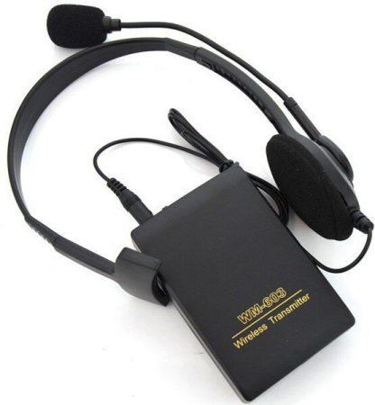 Беспроводной микрофон с гарнитурой WM-603 купить в Москве по недорогой цене