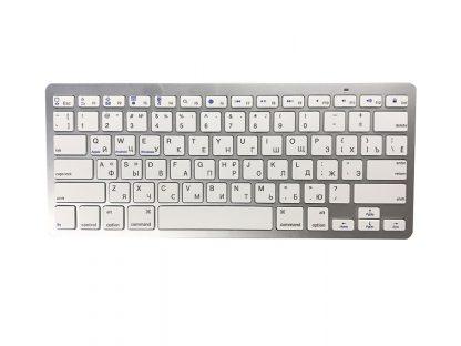 Беспроводная Bluetooth клавиатура для Android Mac Windows ( BK 3001 ) (Белый) купить в Москве по недорогой цене