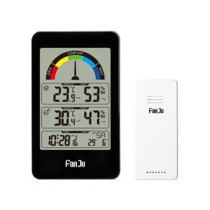 Цифровой термометр-гигрометр с выносным датчиком купить в Москве по недорогой цене