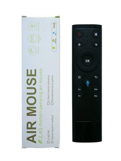 Air mouse LEORY Q5 с голосовым управлением купить в Москве по недорогой цене