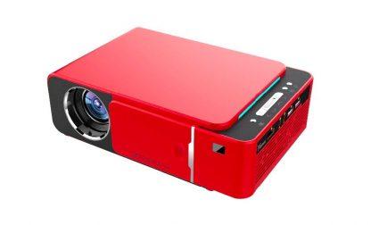 Проектор Touyinger T6A + Wi-Fi (Красный) купить в Москве по недорогой цене