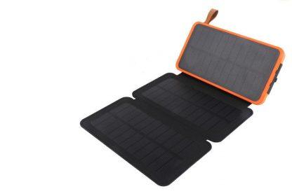 Power Bank с солнечной батареей 20000 мАч купить в Москве по недорогой цене