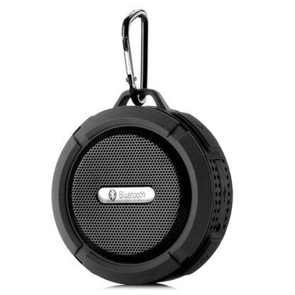 Портативная водонепроницаемая Bluetooth колонка C6 с присоской (Черный) купить в Москве по недорогой цене