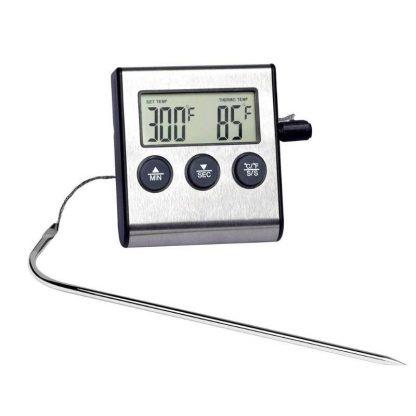 Термометр для жарки с щупом (мини) купить в Москве по недорогой цене