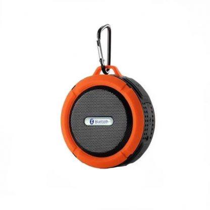 Портативная водонепроницаемая Bluetooth колонка C6 с присоской (Оранжевый) купить в Москве по недорогой цене
