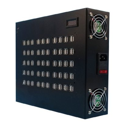 Зарядная станция на 100 портов USB купить в Москве по недорогой цене