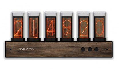Настольные цифровые часы Gixie Clock купить в Москве по недорогой цене