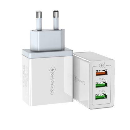 Сетевой адаптер 3 USB * 3