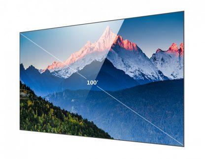 """Экран для лазерного короткофокусного проектора 100"""" 225х128 см купить в Москве по недорогой цене"""