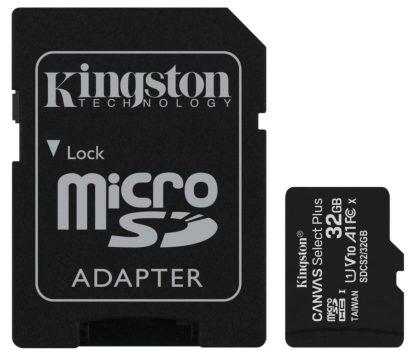 Карта памяти Kingston microSDHC