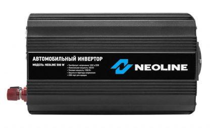 Инвертор автомобильный Neoline 500W купить в Москве по недорогой цене